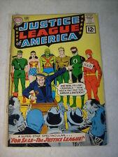 JUSTICE LEAGUE of AMERICA #8 FLASH, GREEN LANTERN, WONDER WOMAN, 1961