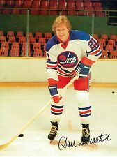 1977 Winnipeg Jets Home vs Indianapolis Racers WHA World Hockey Assn Program