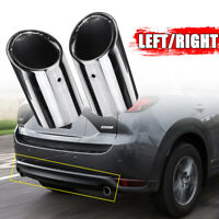 2X STEEL CAR EXHAUST TAIL TIP END PIPE MUFFLER for MAZDA 2012-2019 CX-5 CX 5 !
