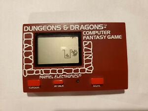 Handheld game: Mattel Electronics Dungeons & Dragons Computer Fantasy Game 1981