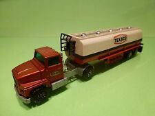 MATCHBOX K-16 K-18 FORD LTS TRACTOR + FUEL TANKER TEXACO 1:60?- GOOD CONDITION