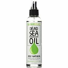 Dead Sea Minerals MAGNESIUM OIL 100% Natural Stress Relief Leg Cramps Spray USA