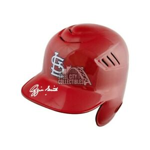 Ozzie Smith Autographed Cardinals Authentic Full-Size Batting Helmet - JSA COA