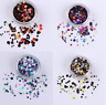 Chunky Mixed Glitter Nail Art Sequins Flakes  3D Decorations DIY Tips