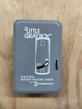 Intermatic WH40 The Little Gray Box Electric Water Heater Timer