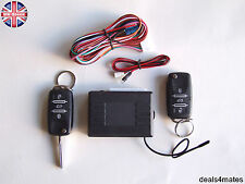 Remote Central Locking Kit  HAA keys blanks LED indicator 2 fobs SEAT IBIZA LEON