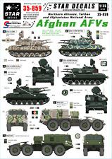 Calcomanías de estrella 35-859, calcomanías para afgano AFVs-Alianza del Norte/talibán/Ana, 1:35