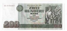 Originaler Geldschein 200,- Mark DDR kassenfrisch ! Ostmark Nostalgie Ost Schein