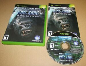 Peter Jackson's King Kong for Microsoft Xbox Complete Fast Shipping
