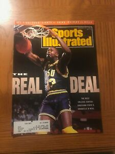 "Sports Illustrated Shaquille O'Neal ""The Real Deal"" January 21 1991"