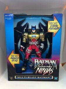 1998 Batman Knight Force Ninjas Multi-Blast Batman (Hasbro)