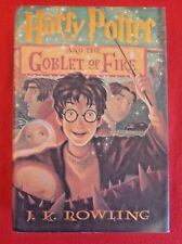 Harry Potter and the Goblet of Fire - 1st edition (2000, Hardcover)