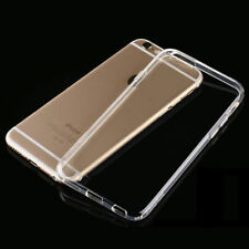 For Apple iPhone 6  6S Transparent Clear Gel Rubber TPU Soft Back Case Cover