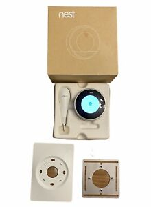 Nest Learning Thermostat 2nd Generation Silver T200477W