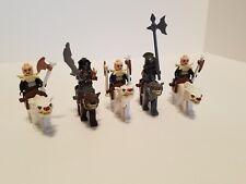 Lego The Hobbit 79002 Yazneg & White Warg, plus grey and brown w/ riders LOTR