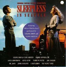 Sleepless in Seattle CD 1993 Soundtrack Various Artists Joe Cocker Carly Simon