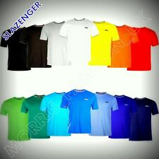 Slazenger Mens Tipped T Shirt Short Sleeve Crew Neck Tee Top Clothing  S--4XL
