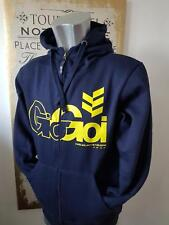 Mens Gio Goi zip up hoodie jacket sports top Size S Navy Mens BNWOT
