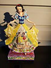 "Jim Shore Disney Snow White ""Fairy Tale Endings For The Fairest Of Them All"""