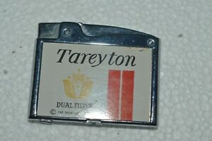 Vintage TAREYTON Cigarettes Promo Lighter De Luxe Made in Japan Works Fine