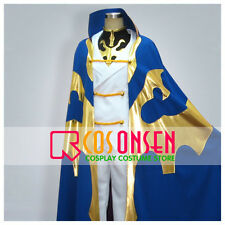 Cosonsen Code Geass R2 Kururugi Suzaku Riding Dress Cosplay Costume Halloween