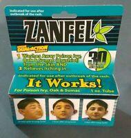 NEW ZANFEL Poison Ivy Oak Sumac 1 oz. Tube Itch Relief Wash EXP 2022+