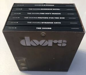 THE DOORS Perception Box Set 6 CD / DVD Audio