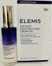 ELEMIS Peptide4 Night Recovery Cream-Oil Restoring Night Cream FULL 1.0 Fl Oz-O8