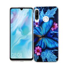 Huawei P30 lite New Edition Hülle Case Handy Schutz Tasche Schutzhülle Etui Blau