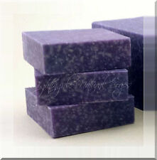 Lavender Oak Moss Scrub Natural Soap Organic Shea Butter Sea Salt One Large Bar