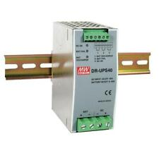 NEW MEAN WELL DR-UPS40 UPS Module DIN Rail