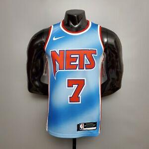 Bill Russell Brooklyn Nets # 1 Uniforme De Baloncesto Poli/éster Bordado Camiseta Deportiva Sin Mangas Ropa Deportiva Al Aire Libre Baloncesto Swi Black-S XPQY Jersey para Hombre