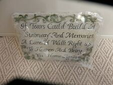 A stepping Stone,Home or Garden with beautiful Scripture new still in original b