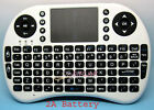 Mini Portable 2.4GHz Wireless Keyboard 92 Keys Touchpad Mouse Keypad Combo White