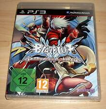 Playstation 3 Spiel - BlazBlue -Continuum Shift ( Blaz Blue Blas ) - PS3 Neu OVP