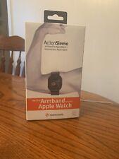 New Twelve South Adjustable Sports Action Sleeve/ Armband 38mm Apple Watch Black