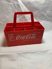 Coca-Cola Vintage Plastic 16 oz. Bottle Six Pack Carrier Red