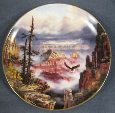 Grand Canyon Where Eagles Soar Collector Plate God Bless America Rudy Reichardt