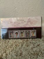 Diana, Princess Of Wales Commemorative Stamps, Royal Mint, New Condition, 1997
