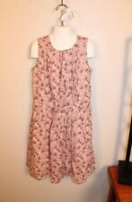 GIRLS LOVELY PINK FLORAL SLEEVELESS DRESS by GAP SIZE XL(12)