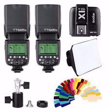 Godox TT685S HSS TTL GN60 Flash for Sony + X1T-S Transmitter + Bowens Bracket