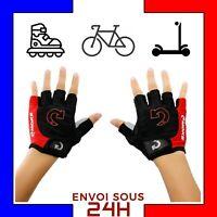 Gants velo M cyclisme demi gant vélo route vtt sport mitaine confort taille M