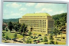 Charleston WV, New State Office Building Number 3, Chrome West Virginia Postcard