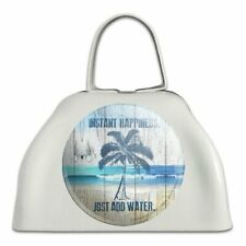 Instant Happiness Add Water Tropical Cowbell Cow Bell Instrument