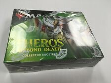 Magic the Gathering MTG Theros Beyond Death Collector Booster Box factory Sealed