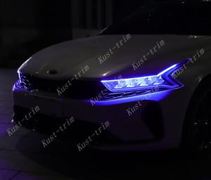 For kia K5 Optima 2021 Atmosphere light Special streamer for LED daytime trim*2