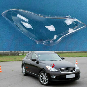 Right Side Headlamp Transparent Cover +Glue Fit For Infiniti EX35 2008~2010