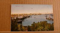 Postcard Unposted, Egypt, Port Said, Le port