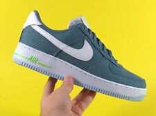 """Nike Air Force 1 Low """"Recycled Canvas' Ozone Blue Men's Shoes Size 10 CN0866-001"""
