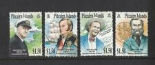 2002 Pitcairn Islands, Historical Figures, SG 614/17, MUH, Set of Four
